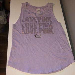 Victoria's Secret pink purple tank